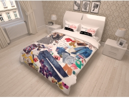 "Gultas veļa  ""Messy Bed"" 3D"